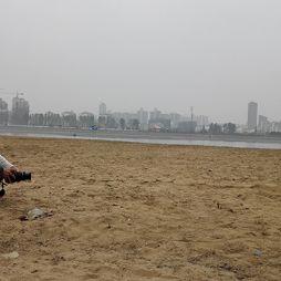 沙滩,叫叫和摄影师(20151025)