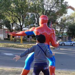 模仿蜘蛛人(20181027)