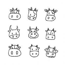 【转】9种小动物的简笔画