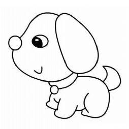 【转】小狗简笔画