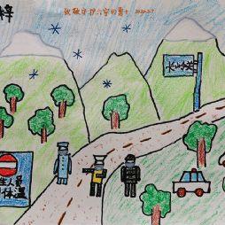 画画-致敬守护六安的勇士(20200207)
