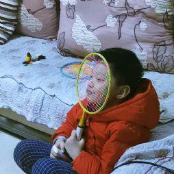 球拍遮脸(20200214)