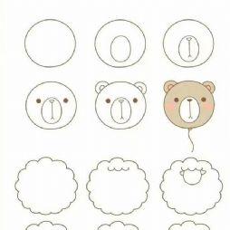 【转】简笔画-圆圆的东东最可爱(20200309)