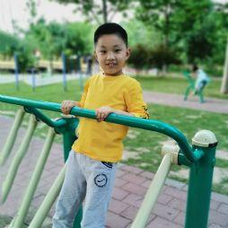 在滨河公园锻炼(20200518)