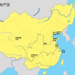 【原创】中国盐的产区