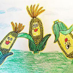 画画-玉米熟了(20201012)