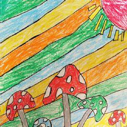 画画-蘑菇森林(20201118)