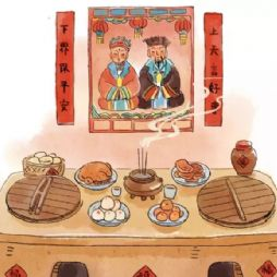 春节里的故事2-祭灶民俗(灶王爷的传说)