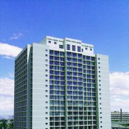 北京林业大学的学生宿舍-公主楼(7#、10#)