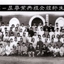 北京林业大学第一届毕业生合影