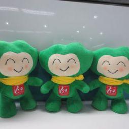 北京林业大学的吉祥物:霖霖