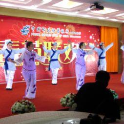 ××(市)××银行2012年新春联欢会上我们部门的节目——梁祝(民族舞)