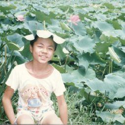 南京玄武湖畔(1995年)
