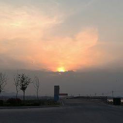 苏埠苏石大桥的晚霞(20180325)
