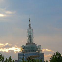 市广电中心的晚霞(20180726)
