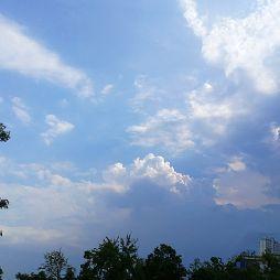 夏末的悠然蓝溪(20180902)
