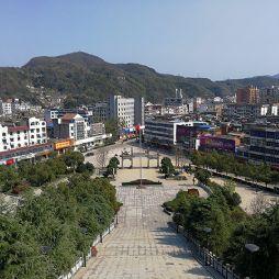 金寨革命博物馆与红军广场(20190325)