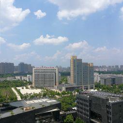 蓝天下的长安南路(20190723)