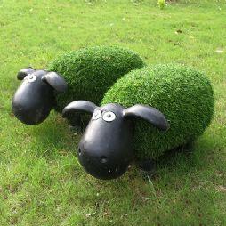 草地上的小羊肖恩(20190731)