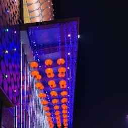 春节的灯光布景(20200119)