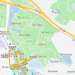 NEI HOU 广东(四)越秀公园(五羊石像-明代古城墙)