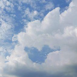 巢湖形状的白云(20200927)